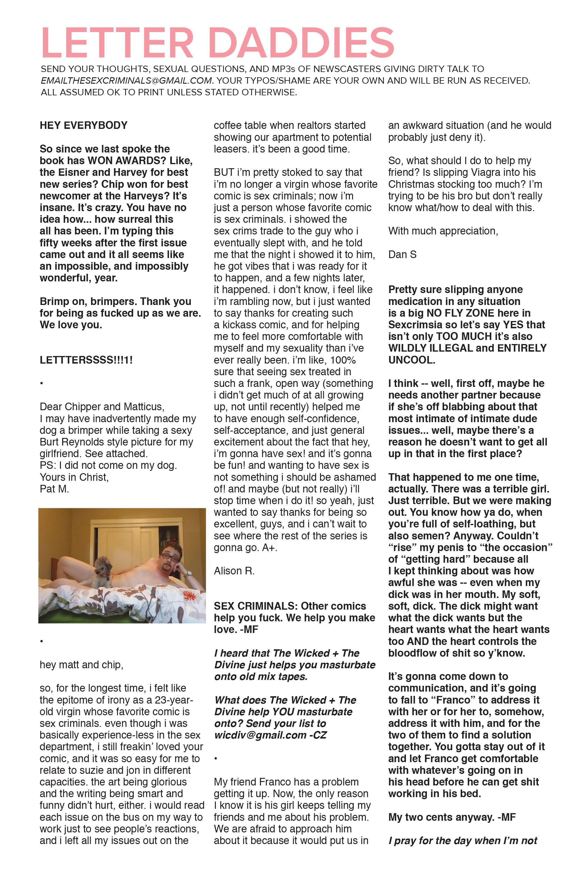 Read online Sex Criminals comic -  Issue #8 - 23