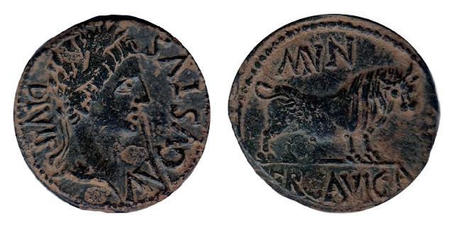 Monedas de la ciudad romana de Ercávica 008