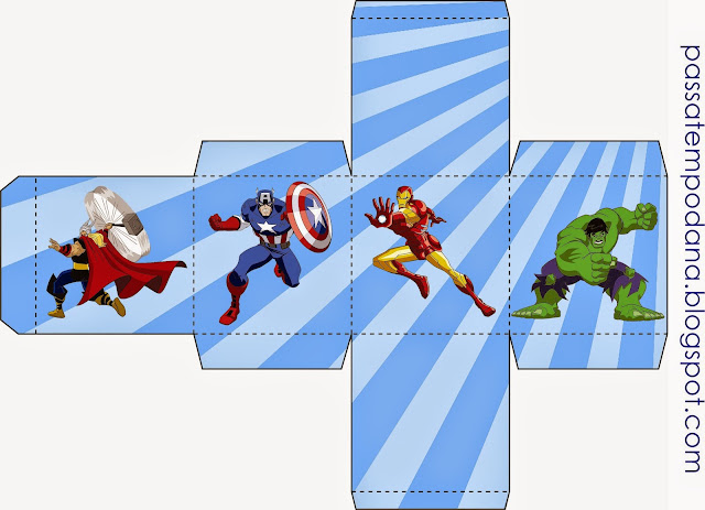 Free Printables Boxes of the Avengers. - Oh My Fiesta! for ...