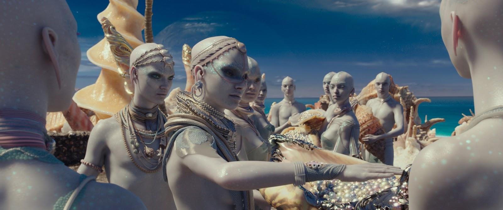 Valerian y la ciudad de los mil planetas - criaturas