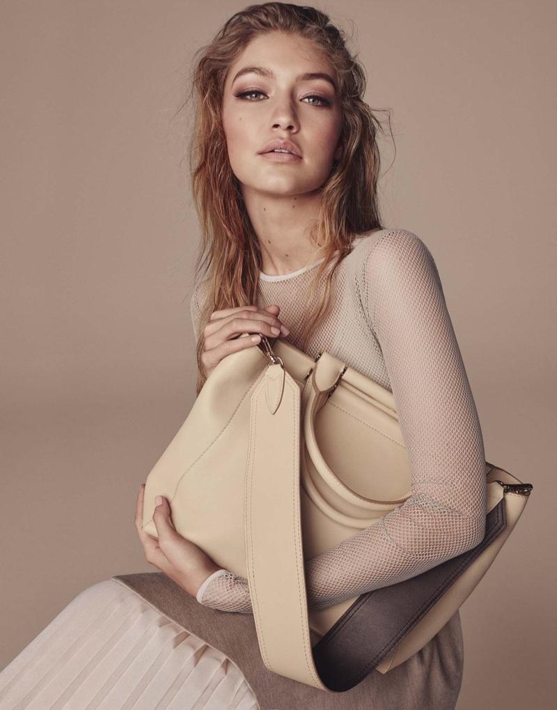 Max Mara Accessories Campaign Fall 2016 stars Gigi Hadid