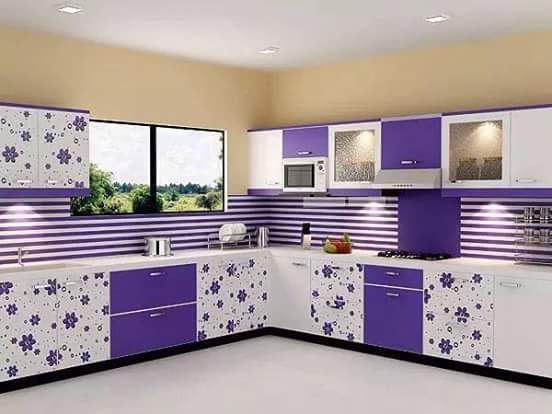 19 model kitchen set minimalis modern mewah penuh warna