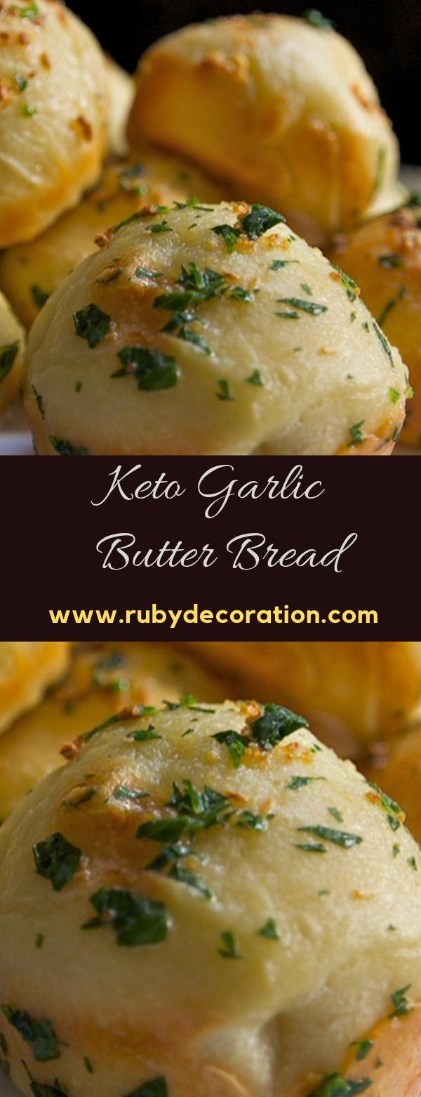 Keto Garlic Butter Bread