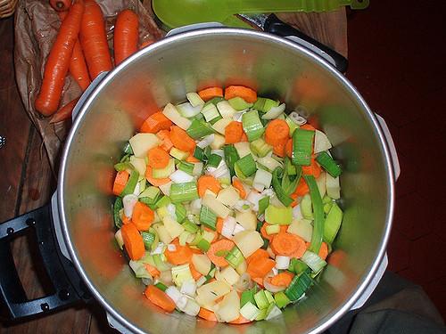 recette soupe des légumes
