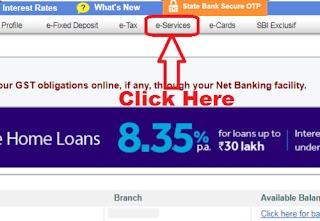 how to request for sbi cheque book online