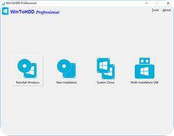 تحميل WinToHDD Professional مجانا لنسخ وتثبيت النظام مع كود التفعيل