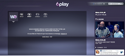 nous sommes désolé cette vidéo ne peut être lue en dehors du territoire français. W9 à l'étranger avec VPN France