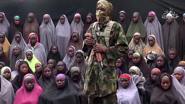 new video of captured 50 Chibok girls