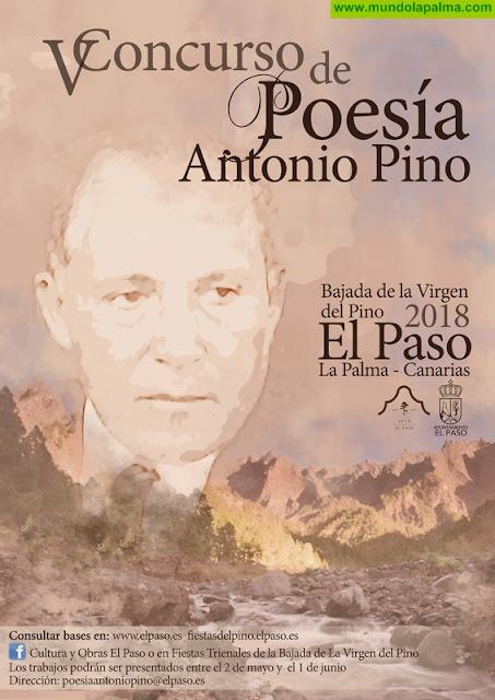 """El ayuntamiento de El Paso abre el plazo de presentación de trabajos para el """"Concurso de Poesía Antonio Pino"""""""