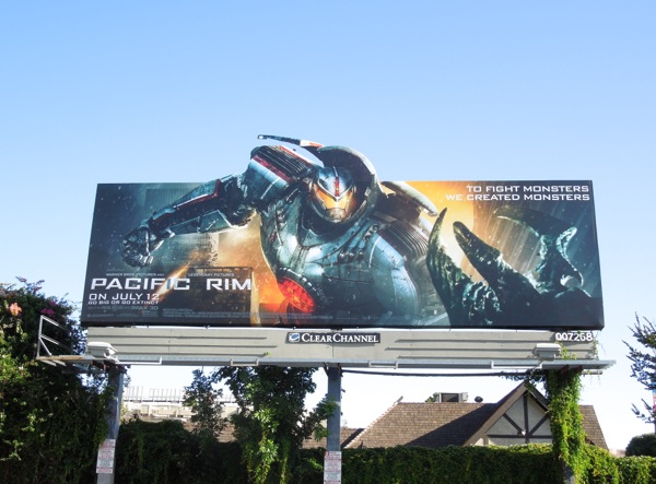 Pacific Rim special extension billboard