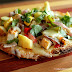 Grilled Chicken and Vegetable Tostadas