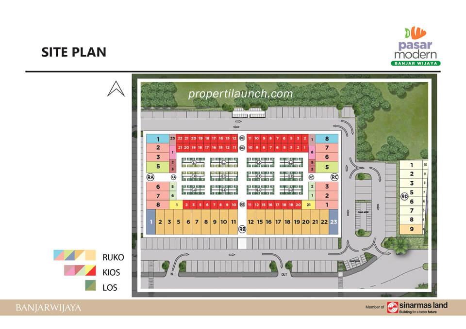 Site Plan Pasmod Banjar Wijaya