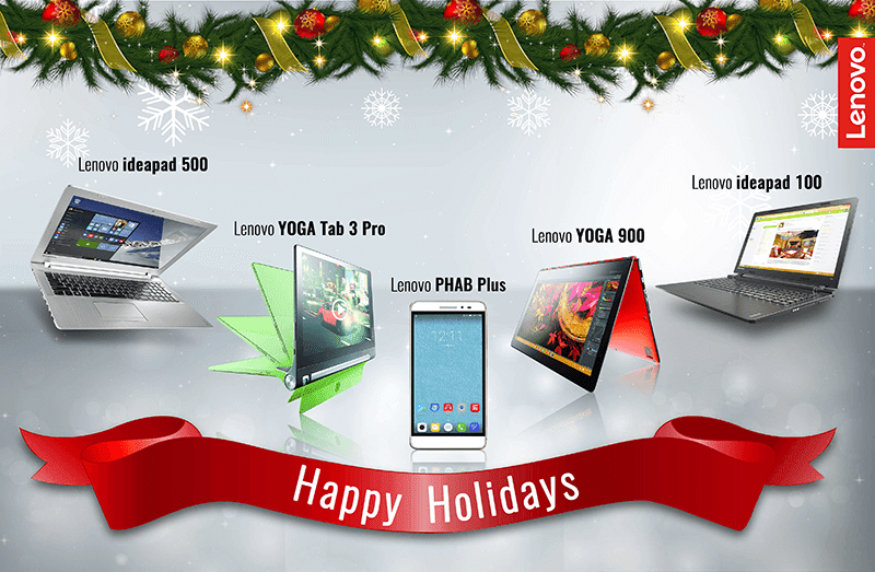 Lenovo PC And PHAB Christmas Gift Guide 2015! Time To Be Productive Next Year!