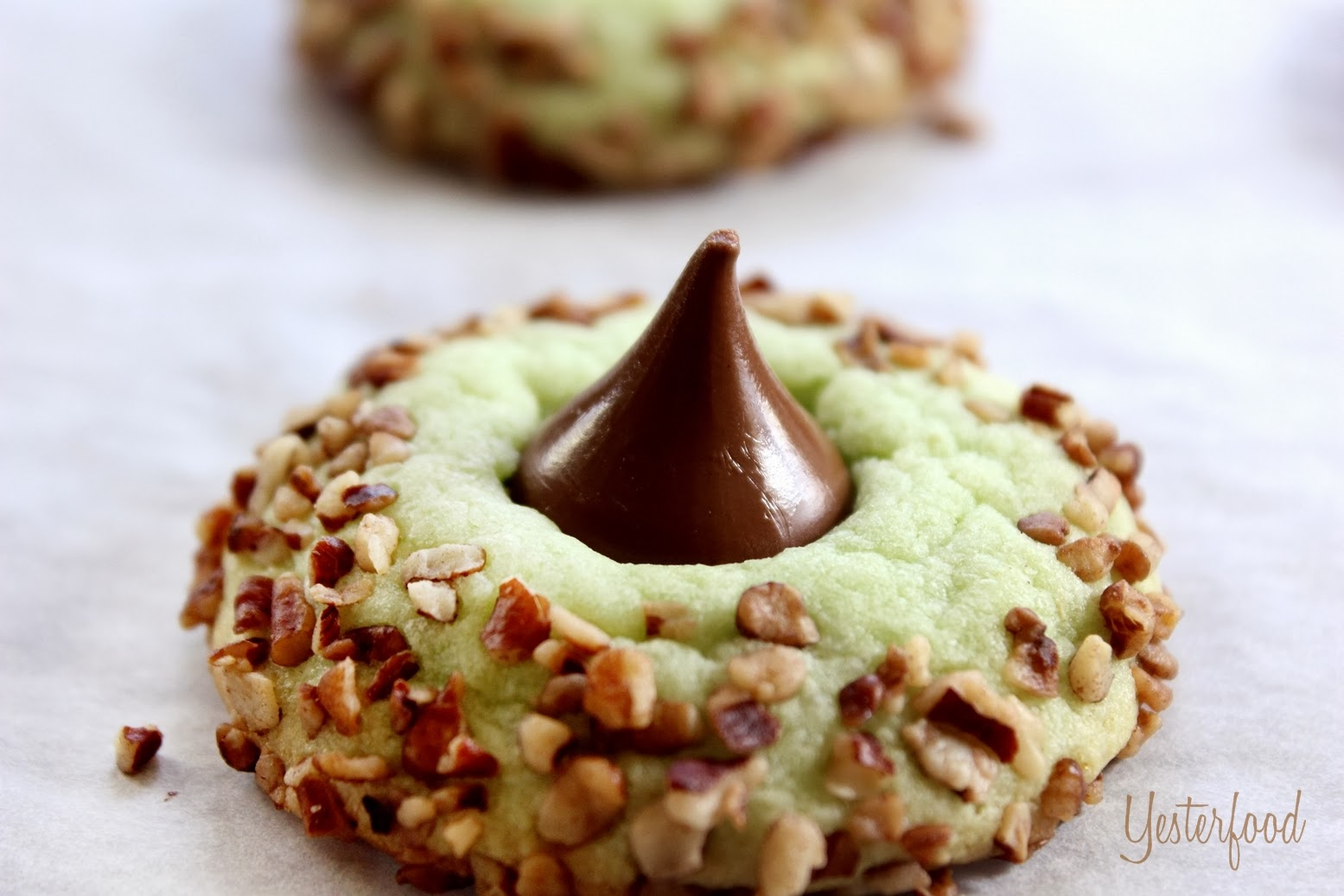 pistachio kiss pudding cookies print recipe makes about 36 cookies 1 ...
