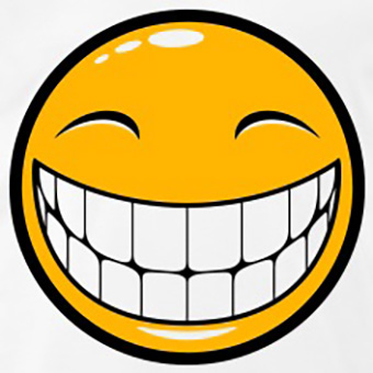 10 happy smileys showing teeth  collection  smiley symbol smiley face clip art black and white smiley face clip art emoticons