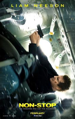Poster oficial pentru filmul Non-Stop cu Liam Neeson