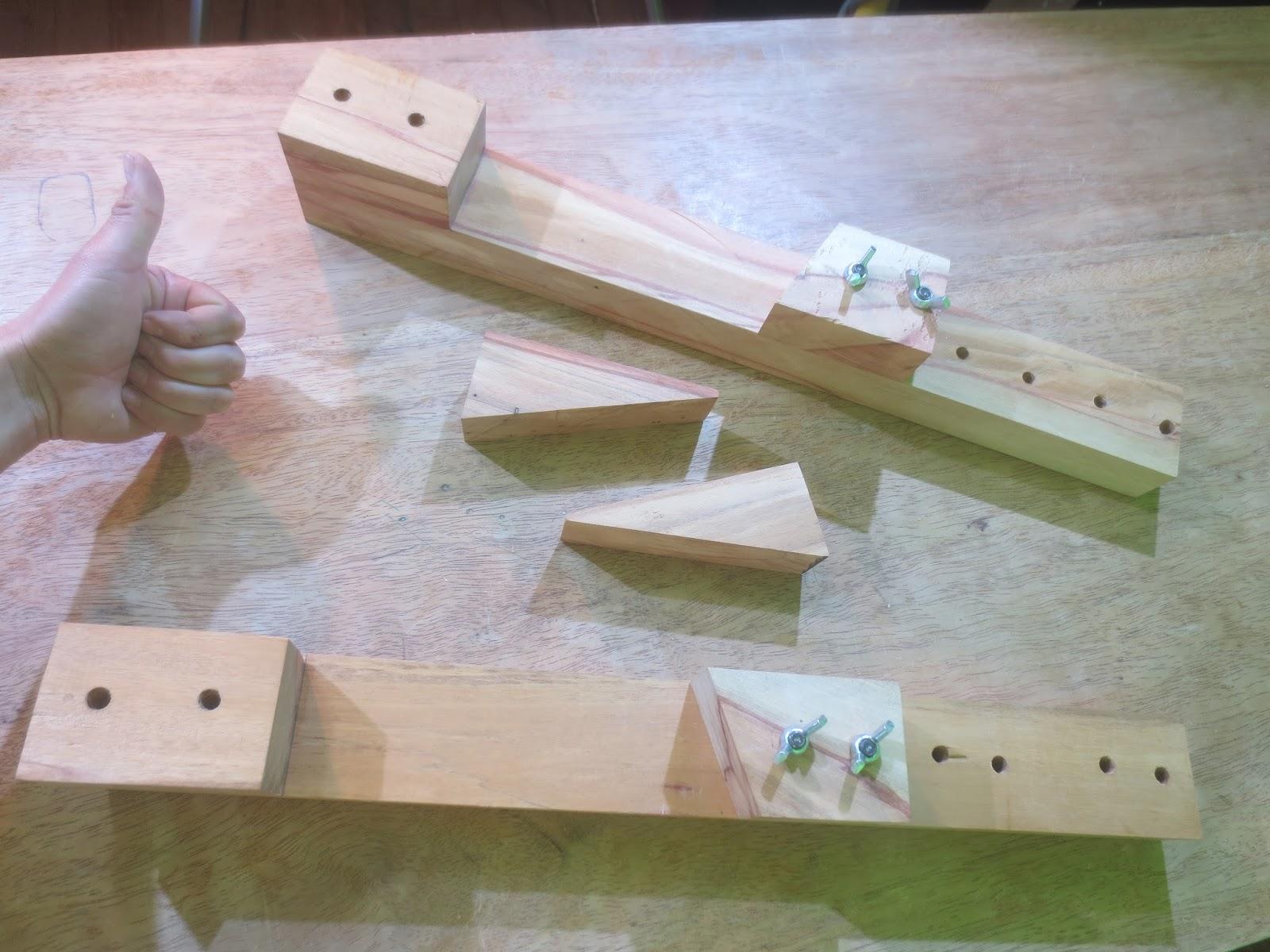Decoraciones manualidades en madera como hacer prensas o for Sargentos de madera
