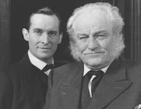Jeremy Brett as Sherlock Holmes and Charles Gray as Mycroft Holmes in the Granada adaptation
