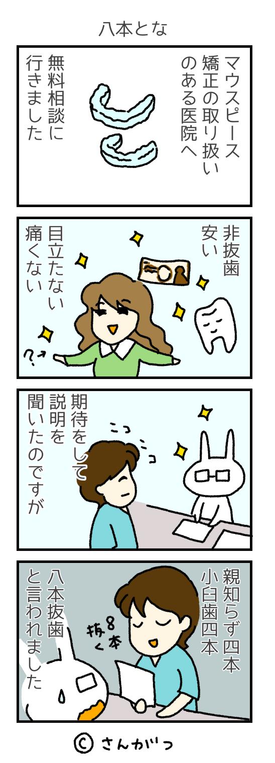 歯科矯正の漫画 12 無料相談編