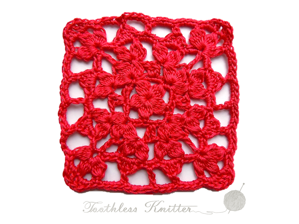 Granny Squares and Motifs: Pattern 5 / Granny Squares i Motywy: Wzór 5