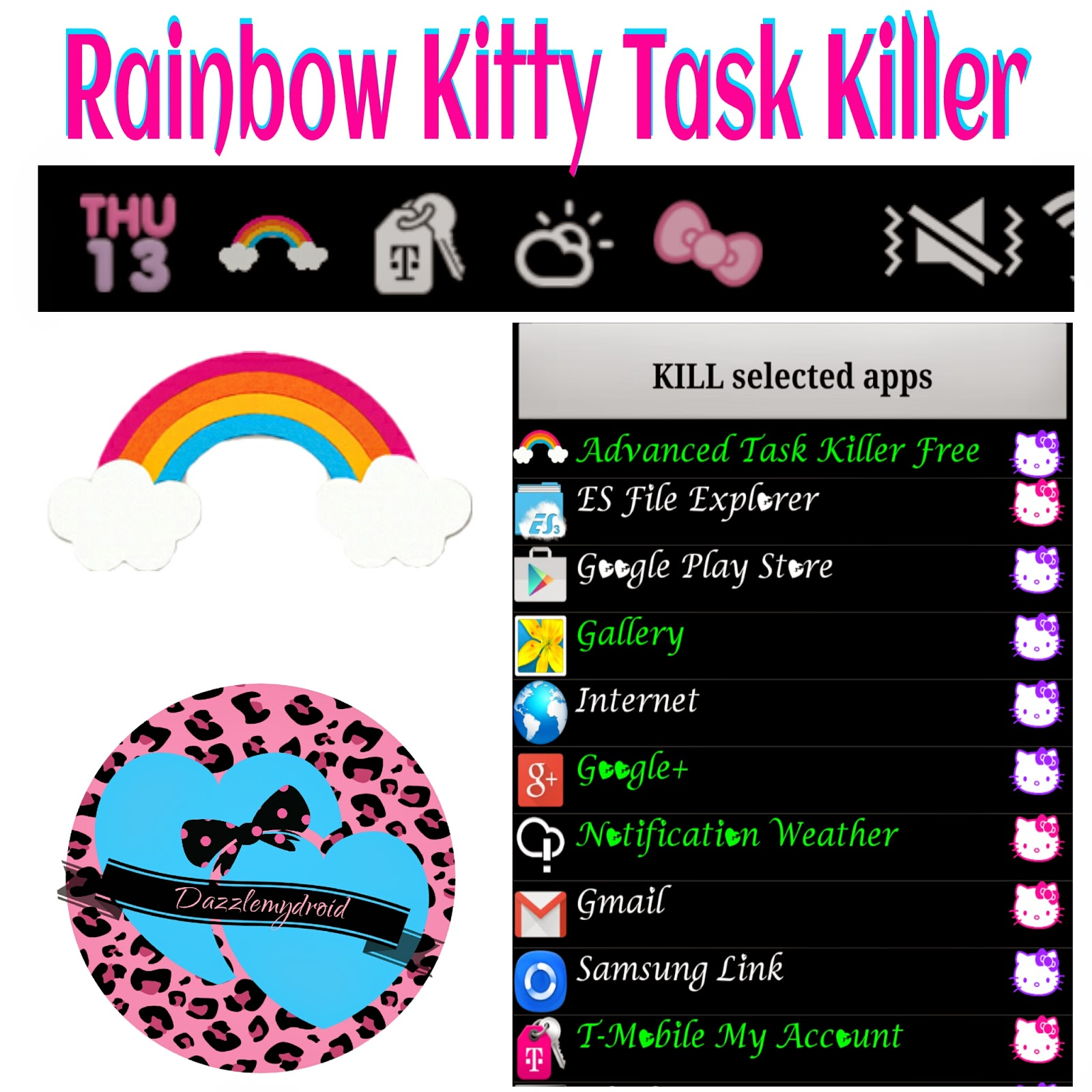 Google themes hello kitty - To Download This Theme Click On The Hello Kitty Button Below