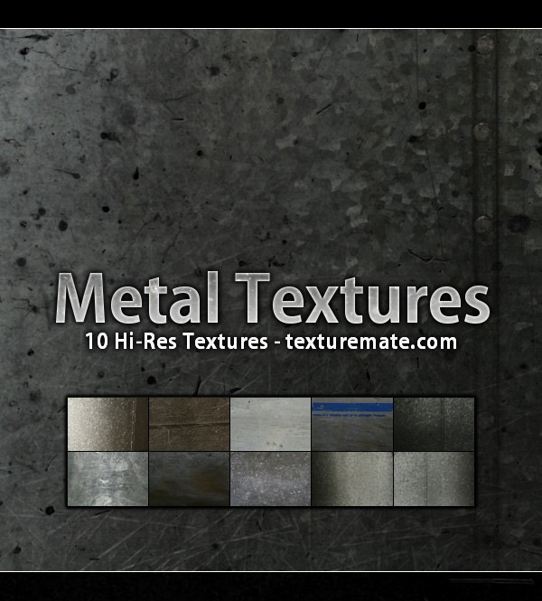 Free Texture Pack for Commercial Use – Metal
