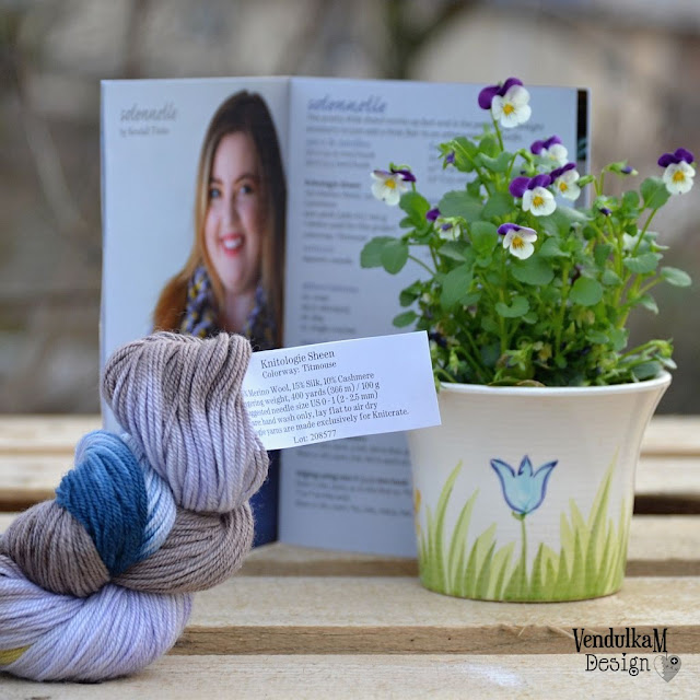 Yarn, flower, magazine