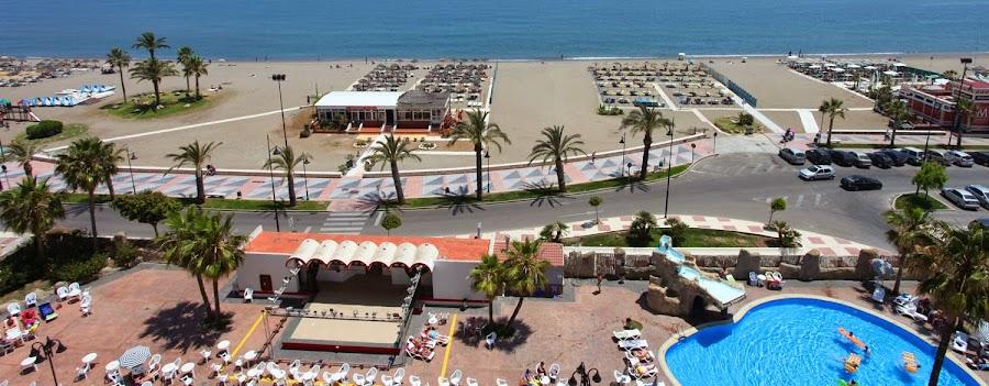 Las playas de Torremolinos, Málaga
