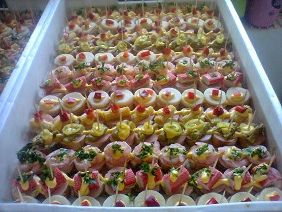 Pasteler a de fabi n finos canapes variados sabores for Canapes faciles y rapidos