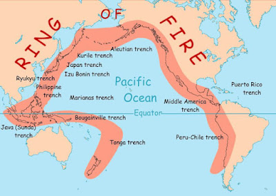 Gempa Tektonik, Ring of Fire Hingga Supervolcano