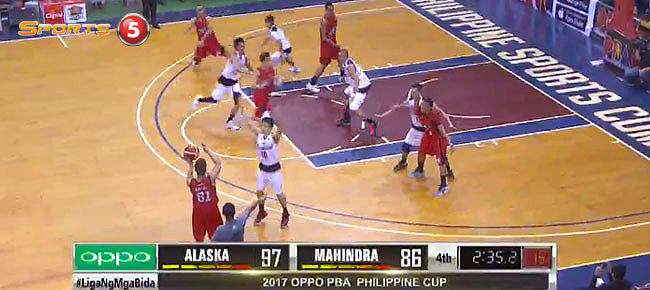 Alaska def. Mahindra, 107-91 (REPLAY VIDEO) January 22
