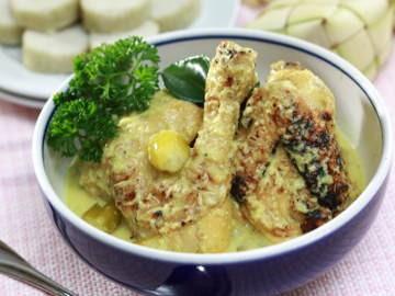 Resep Cara Membuat Ketupat Lebaran Opor Ayam Jawa