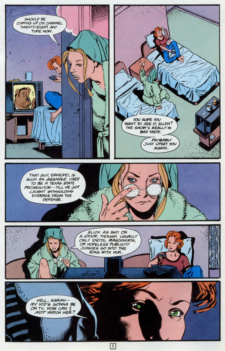 Read online Animal Man (1988) comic -  Issue #73 - 3