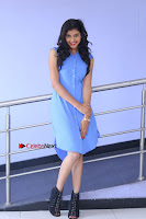 Telugu Actress Mounika UHD Stills in Blue Short Dress at Tik Tak Telugu Movie Audio Launch .COM 0051.JPG