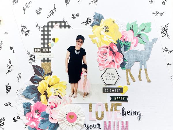 Crate Paper Design Team : Being A Mum
