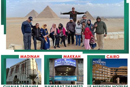 Paket Umroh Syawal Plus Cairo 12 Hari