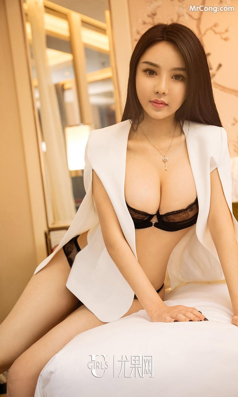 Image UGIRLS-Ai-You-Wu-App-No.1212-Sun-Yi-Fei-MrCong.com-006 in post UGIRLS – Ai You Wu App No.1212: Người mẫu Sun Yi Fei (孙一菲) (35 ảnh)