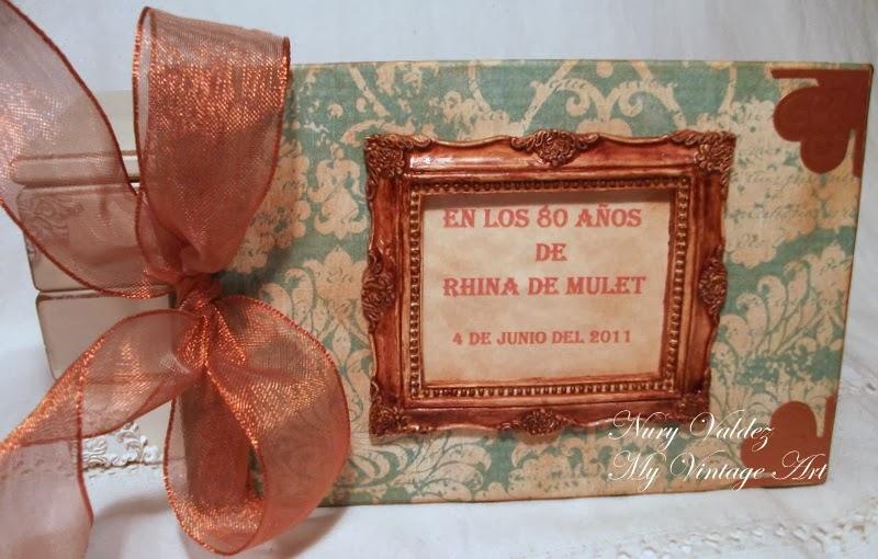 My Vintage Art Album De Firmas Y Recuerdos Para Cumpleanos