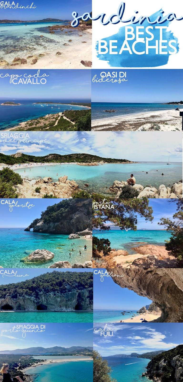 Sardinia Best Beaches Die schönsten Strände Sardiniens auf: http://www.theblondelion.com/2017/08/schoenste-straende-sardiniens.html Tipps Reiseblog Travel Diary Reiseführer Reisetipps