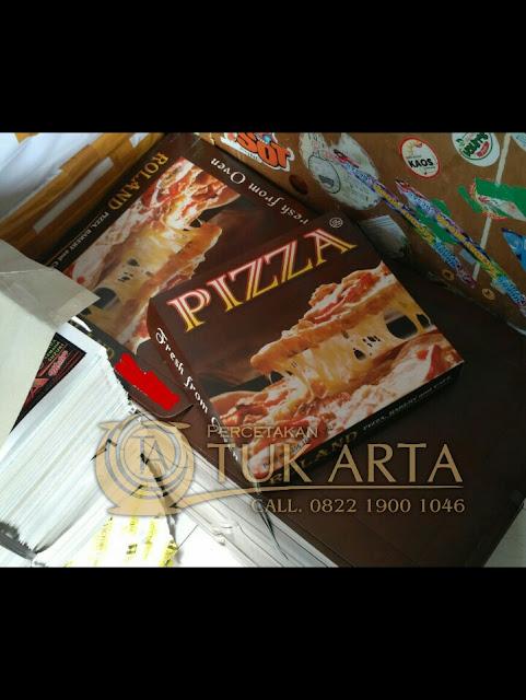 cetak dus pizza