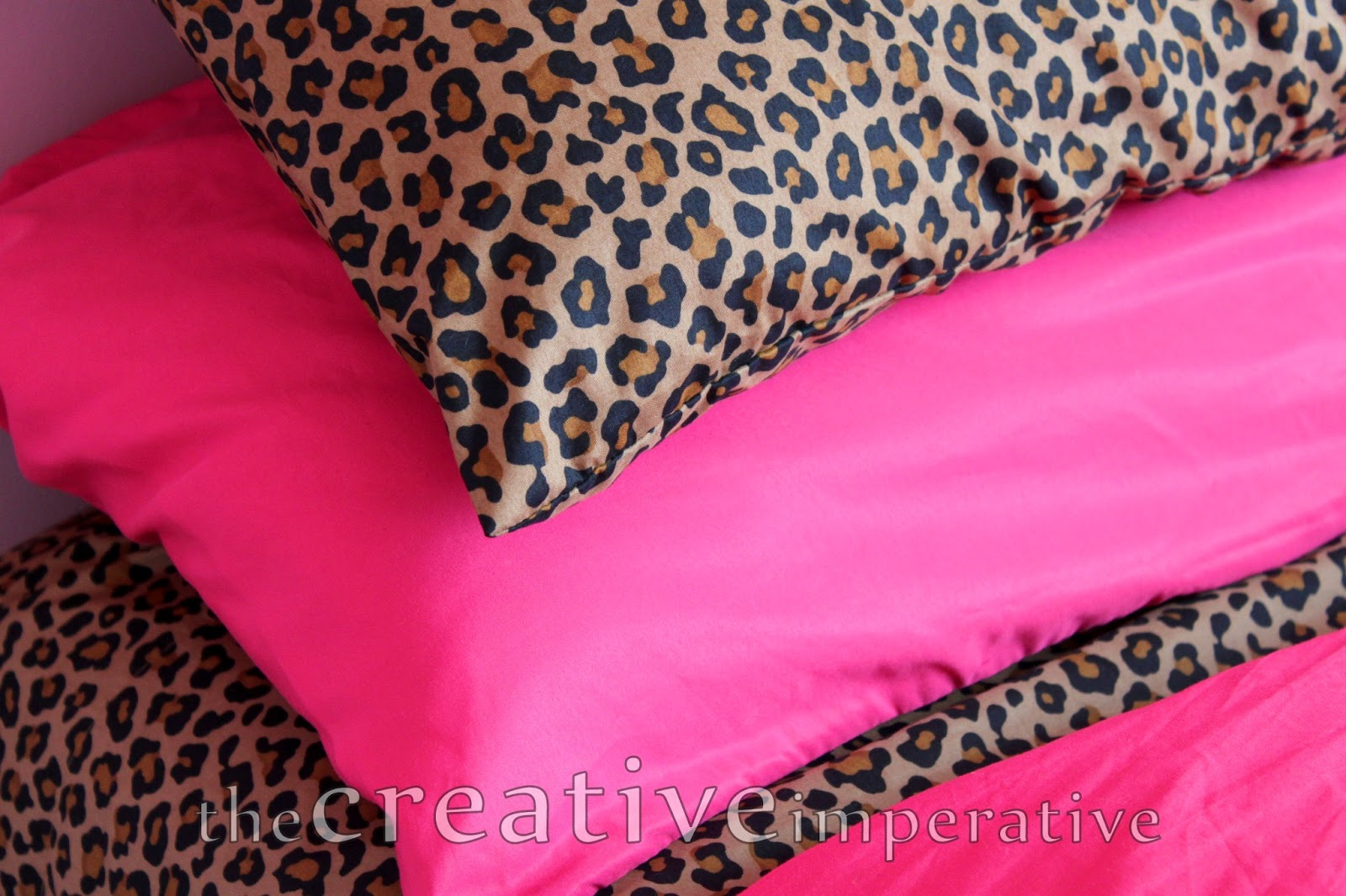 pink leopard print bedroom the creative imperative some girly decor 16749