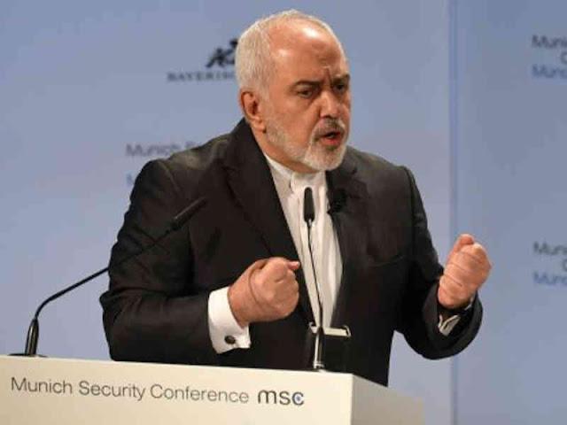 Iran's Javad Zarif Accuses Israel and US of Seeking War