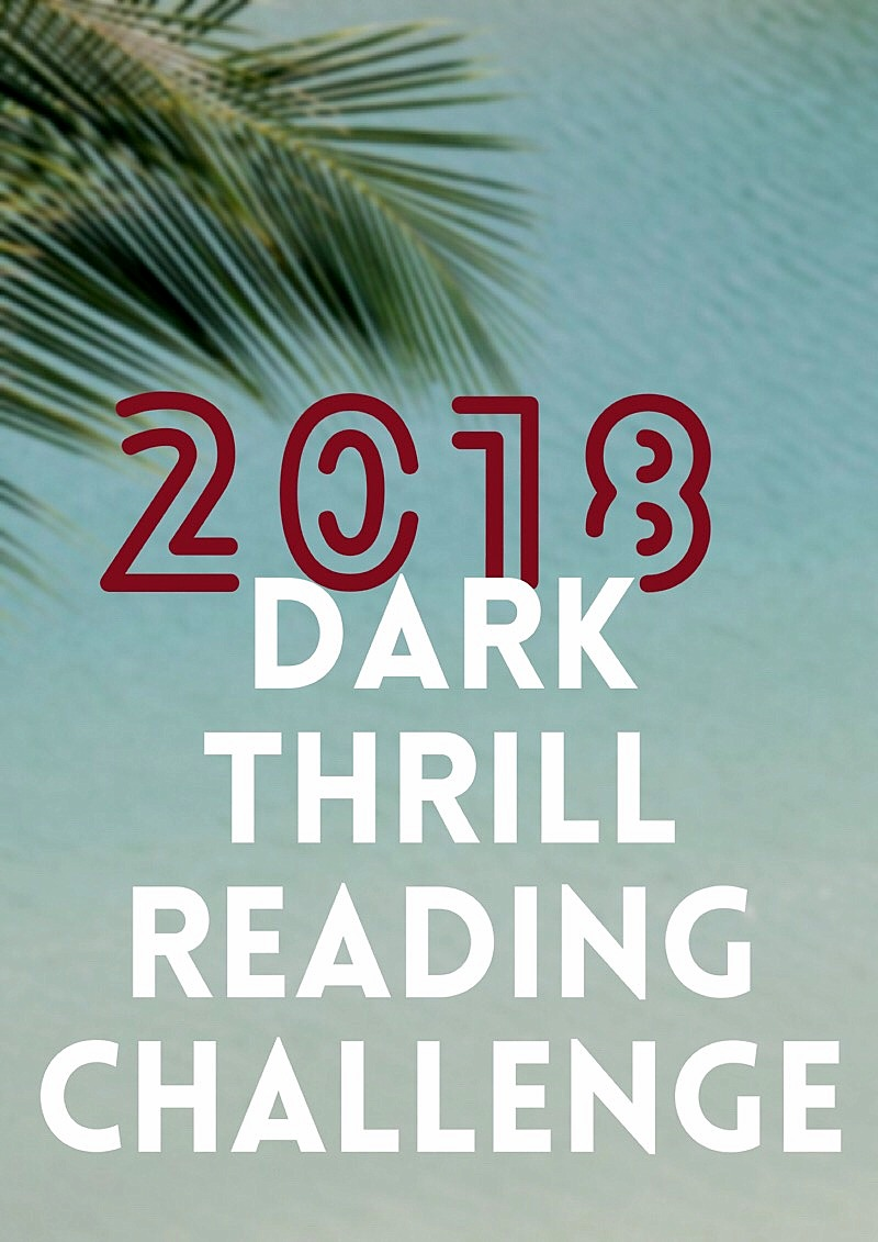 The 2018 reading challenge thrillers, crime, detectives, suspense