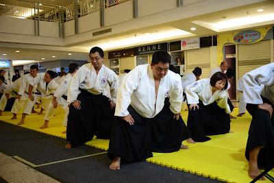 Aikido Taisho / Pemanasan Aikido