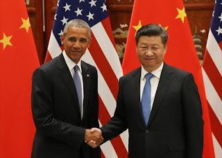 Obama y Xi Jinping