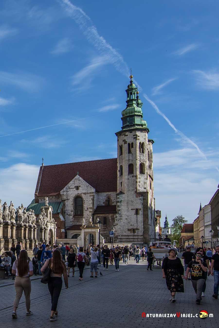 Iglesia de San Andrés, Cracovia
