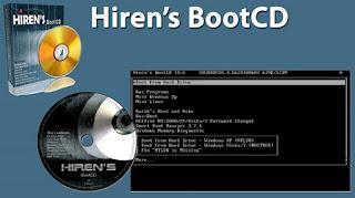 USB Boot với Hiren's BootCD
