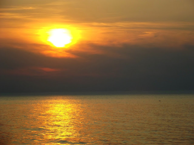 Indiana Photo of the Day - Sunset Over Lake Michigan