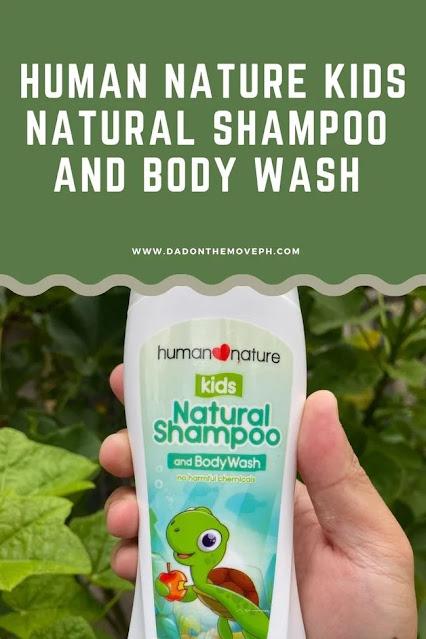 Human Nature Kids Natural Shampoo and Body Wash review