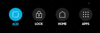 Navigasi baru pengganti Lock, APP dan Home Button